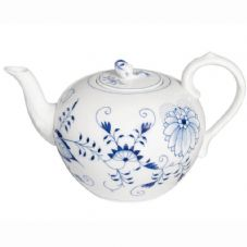 Meissen Blue Onion Tea Pot